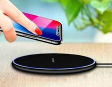 Fast Wireless Charger for iPhone 8 X XR XS Max QC3.0 10W; Samsung S9 S8 Note 8 9