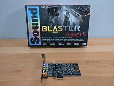 Creative Sound Blaster Audigy FX SB1570 PCIe 5.1 Sound Card SBX Pro Studio