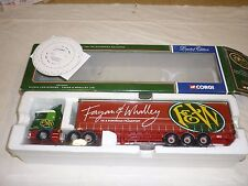 A Corgi  cc 12211, Scania curtainside trailer,  Fagan & Whalley LTD, Boxed