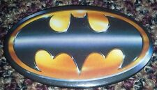 Batman Tim Burton Movie Bat Symbol  Vintage Oval theater Promotional Pin Badge