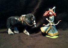 Disney Princess Merida & Angus Christmas Ornament PVC Brave with Bow and Arrow