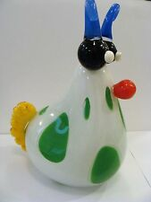 Amazing ELISABETH DECOBERT Art Glass ESCARGOT Figurine 2000 of Paris, France
