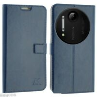 FOR NOKIA LUMIA 1020 LEATHER CASE COVER WALLET POUCH FLIP SLIM SKIN N1020 SW 24