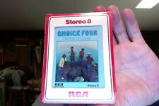 The Choice Four- On Top of Clear- new/sealed 8 Track tape