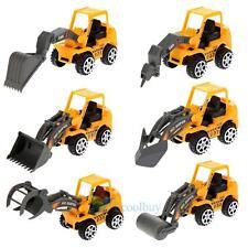 6Pcs Mini Pull Back Model Car Truck Vehicle Engineering Toys Baby Kid Children A
