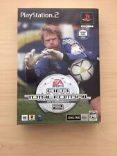 PS2 Fifa Total Football 2  import Japan Very Good