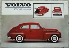 VOLVO 544 TWO DOOR USA Car Sales Specification Leaflet March 1962 #RK 603