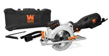 """Wen 3625 5-Amp 4-1/2"""" Beveling Compact Circular Saw with Laser and Carrying Case"""