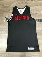 Nike Atlanta Hawks Player Issue Training Jersey Vest Reversible L NEW AJ4724-010