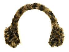 JOHN LEWIS Girls Fake-Fur EARMUFFS Ear Warmers BROWN Animal | One Size 4-12 yrs