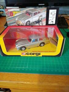 Corgi 271  James Bond 007 Aston Martin Boxed
