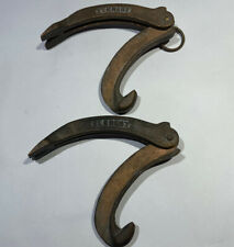 Elkhart 2 Cast Brass Folding Spanner Wrenches Firefighter Hydrant Amp Jimmy Tools