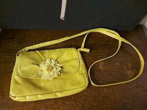 Pretty Yellow Shoulder Bag by Matalan