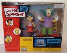 The Simpsons Krustylu Studios Diorama Milhouse & Krusty Action Figure Set