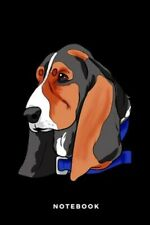 Notebook: Basset Hound Dog, Brand New, Free shipping in the Us