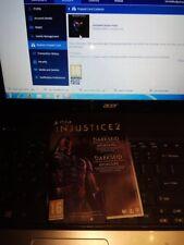 Injustice 2 Darkseid Pack DLC Code Download ONLY PSN Playstation 4 No Game