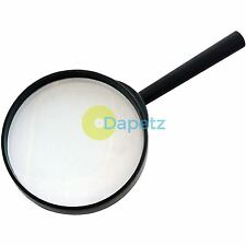 "100mm 4"" Magnifying Glass Minimal Distortion Magnifier Optical Eye Reading Hobby"