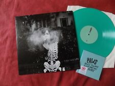PAWS Youth culture forever RARE LP GREEN +PROMO CDR INDIE EX/EX