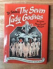 Dr. Seuss's THE SEVEN LADY GODIVAS 1987 HB/DJ 1st Thus Re-Issue Vintage VGC