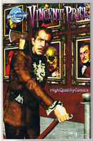 VINCENT PRICE GALLERY #1, NM, Horror, Robinson, 2009, more VP in store