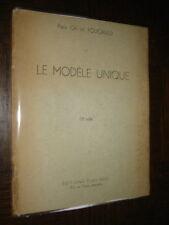 LE MODELE UNIQUE - Père Charles de Foucauld 1935