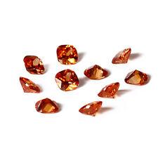 1-5 PCS 8 CT 12 * 12 MM Cushion Cut Natural Morganite Loose Gemstones Wholesale