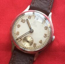 Vintage JUNGHANS Gents Ww2 Era MILITARY STYLE GENTS 15j Cal 98 Watch-working