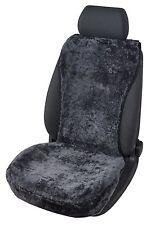 kuschelweiche Universal echt Lammfell Autositz Auflage schwarz für alle PKW