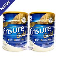 New Ensure Gold Vanilla 850G X 2 Tins Complete Nutrition Milk
