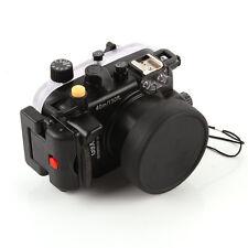 40m Wasserdicht Tauchen Unterwasser Gehäuse Case für Canon g9x Kamera 24-85mm Objektiv