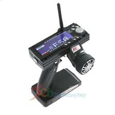 FS-GT3B 2.4G 3CH LCD Screen Gun Transmitter and Receiver for RC Car Vehicle Boat