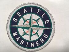 "Seattle Mariners patch baseball  3.75"" dia."