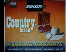 Zoom Country Karaoke CDGs & DVDs