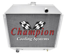 3 Row Cold Champion Radiator for 1975 1976 Ford F-500 V8 Engine