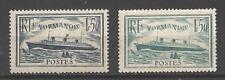 France 1935 Yvert n° 299 et 300 neuf ** 1er choix