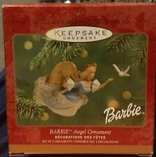 Hallmark Keepsake Ornament - Barbie Angel Ornament (2001) Set of 2 ornaments