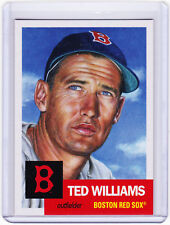 Ted Williams Boston Red Sox 2018 Topps 1953 Living Set 55 from Week 19
