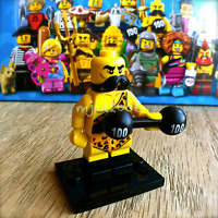 LEGO 71018 Minifigures SERIES 17 Circus Strongman #2 Minifig SEALED dumbbell NEW