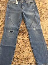 B5403 NWT J.Crew toothpick cone denim jeans Corbin wash skinny distressed sz 31