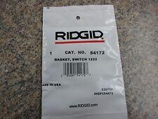 Ridgid Part # 54172 Switch Gasket