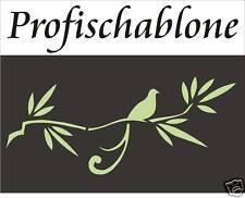 Wandtattoo, Malerschablone, Wandschablone, Stupfschablone, Stencil, Vogelast XL