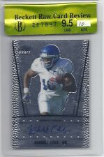 BGS 9.5 2011 Leaf Metal Draft AUTO Randall Cobb RC