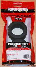 Tamiya 54168 F104 Esponja tires/tyres B (4435, parte posterior) (1 Par), (F104 Pro), Pin