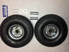 Two Original Jungle Wheel Assemblies. Tires,Rims,Bearings & Hardware included!