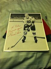 Personalized Gordie Howe Autograph Photo