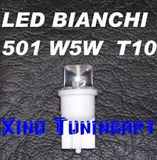 Lampadine LED BIANCO 7000K T10 W5W Luci Posizione 180°