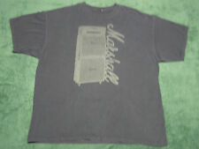 Marshall Guitar Amplifiers T-Shirt Black size XL