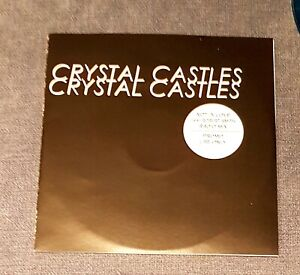 crystal castles / robert smith  - the cure not in love cd promo france