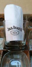 LOT 6 VERRES ROCK JACK DANIELS CLASSIC - 27 CL - RARE !!!!!