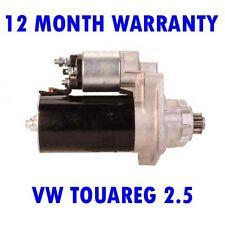 VW TOUAREG 2.5 TDI 2003 2004 2005 2006 2007 2008 - 2010 RMFD STARTER MOTOR